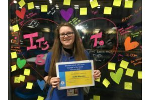 February 2019 - Hollie Marsden, Youth Club Volunteer