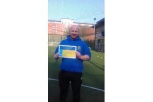 April 2019 - Martin Dyson, Volunteer Football Coach